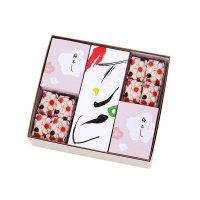 土佐銘菓抄 元祖ケンピ5袋、ケンピバラエティ5袋 長尾鶏の玉子16個、梅不し24個