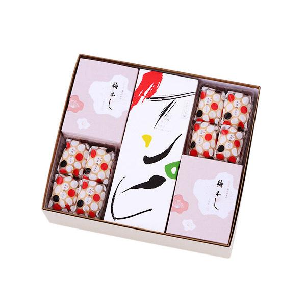 画像1: 土佐銘菓抄 元祖ケンピ5袋、ケンピバラエティ5袋 長尾鶏の玉子16個、梅不し24個